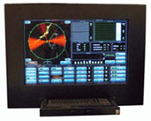 Air Defense Radar Display - Optional Table-top Console